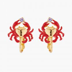 Little Crab Clip On Earrings