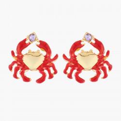 Boucles D'oreilles Tiges Boucles D'oreilles Tiges Petit Crabe60,00€ ABFM103T/1Les Néréides