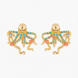Octopus Clip-on Earrings