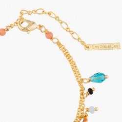 Bracelets Charms Bracelet Charms Petit Crabe, Hippocampe Et Corail140,00€ ABFM204/1Les Néréides