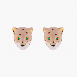 Panther Head Stud Earrings