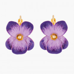 Violet Dormeuses Earrings