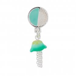 Boucles D'oreilles Boucle D'oreille Clip Petite Méduse Bleue (vendue À L'unité)