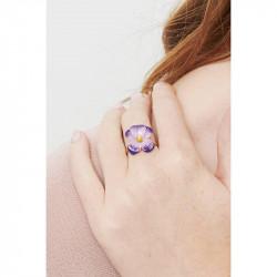 Bagues Ajustables Bague ajustable violette70,00€ KVI602/3Les Néréides