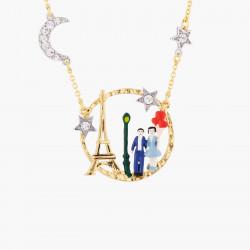 Colliers Plastrons Collier Deux Rangs Amoureux Sous Le Ciel De Paris210,00€ TPA309/3Les Néréides