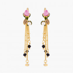 Boucles D'oreilles Pendantes Boucle D'oreilles Hook Bouton De Rose Et Chaînes120,00€ VBR101H/1Les Néréides