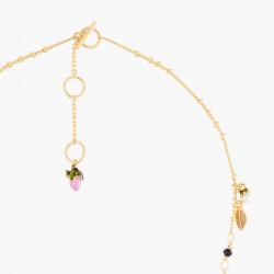 Colliers Fins Collier Pendentif Bouton De Rose Et Perles Fantaisie190,00€ VBR304/1Les Néréides