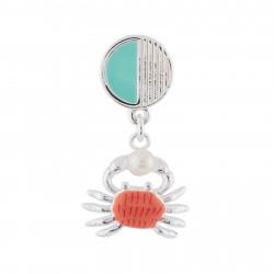 Boucles D'oreilles Boucle D'oreille Petit Crabe Et Perle (vendue À L'unité)25,00€ AHJS117T/1N2 by Les Néréides