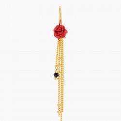 Boucles D'oreilles Pendantes Boucle D'oreilles Hook Bouton De Rose Rouge Et Chaînes120,00€ WBR101H/1Les Néréides