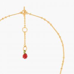 Colliers Pendentifs Collier Pendentif Bouton De Rose Rouge80,00€ WBR302/1Les Néréides