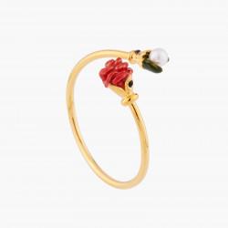 Bagues Ajustables Bague Ajustable Bouton De Rose Rouge Et Perle60,00€ WBR601/1Les Néréides