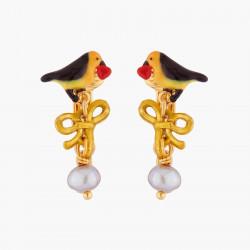 Boucles D'oreilles Clip Boucles D'oreilles Clips Rouge-gorge Et Perles90,00€ WSO110C/1Les Néréides