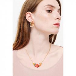 Colliers Fins Collier Fin Rouges-gorges Amoureux Et Fleur180,00€ WSO303/1Les Néréides