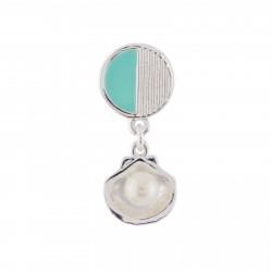 Boucles D'oreilles Boucle D'oreille Petit Coquillage Argenté (vendue À L'unité)25,00€ AHJS118T/1N2 by Les Néréides
