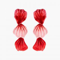 Boucles D'oreilles Pendantes Boucles D'oreilles Tiges Pétales De Roses160,00€ AMAR103T/1Les Néréides