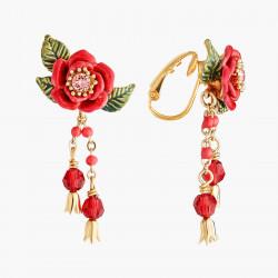 Boucles D'oreilles Clip Boucles D'oreilles Clips Boutons De Roses Et Pampilles120,00€ AMAR104C/1Les Néréides