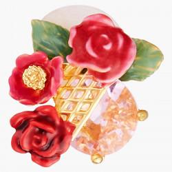 Boucles D'oreilles Tiges Boucles D'oreilles Tiges Boutons De Roses Sur Treillis90,00€ AMAR106T/1Les Néréides