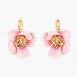 Boucles D'oreilles Dormeuses Dormeuses Roses En Feurs80,00€ AMAR107D/1Les Néréides