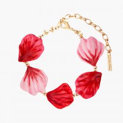 Rose Petals Thin Bracelet