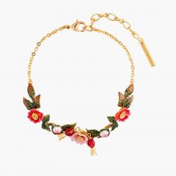 Wild Roses Thin Bracelet