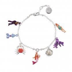 Bracelets Bracelet Multi Pampilles Du Monde Sous-marin65,00€ AHJS202/1N2 by Les Néréides
