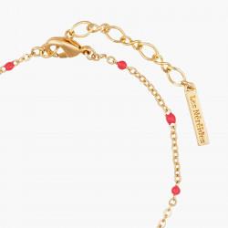Bracelets Fins Bracelet Fin Bouton De Rose Et Feuilles Dorées70,00€ AMAR206/1Les Néréides