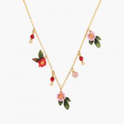 Collar Fino Rosas Salvajes