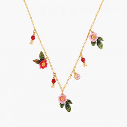 Wild Roses Thin Necklace
