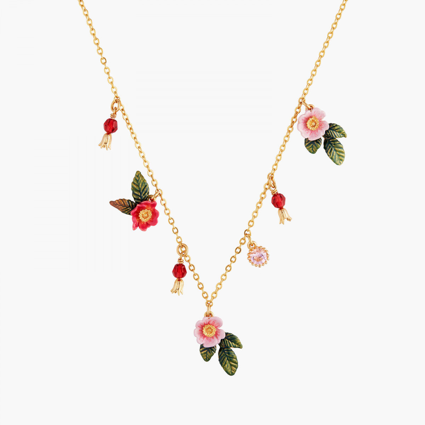 Colliers Fins Collier Fin Roses Sauvages150,00€ AMAR307/1Les Néréides