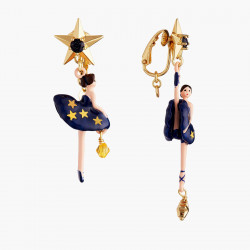 Boucles D'oreilles Clip Boucles D'oreilles Clip Asymétriques Ballerine Constellation90,00€ AMDD108C/2Les Néréides