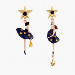 Boucles D'oreilles Pendantes Boucles D'oreilles Tiges Asymétriques Ballerine Constellation90,00€ AMDD108T/2Les Néréides