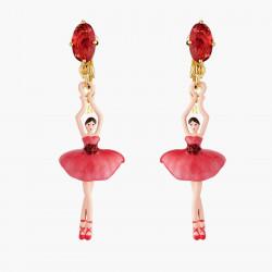 Boucles D'oreilles Clip Boucles D'oreilles Clip Ballerine Et Bouton De Rose95,00€ AMDD115C/1Les Néréides