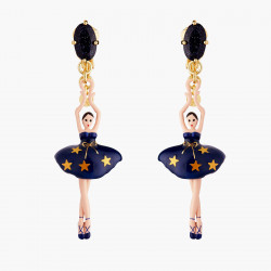 Boucles D'oreilles Clip Boucles D'oreilles Clip Ballerine Constellation95,00€ AMDD115C/2Les Néréides