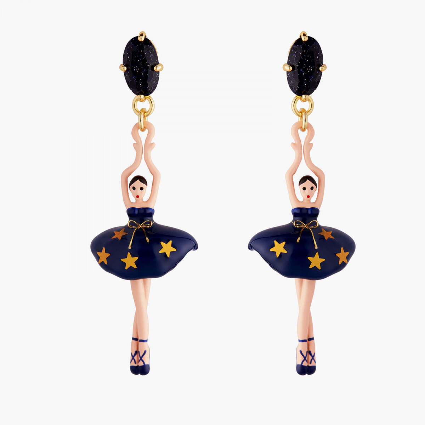 Boucles D'oreilles Pendantes Boucles D'oreilles Tiges Ballerine Constellation95,00€ AMDD115T/2Les Néréides