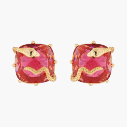 Serpentine Clip On Earrings