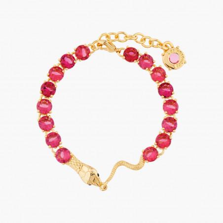 Collier pierre noire et petites perles dorées