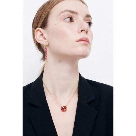 Branch of cherry tree earrings