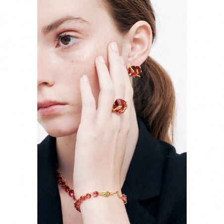 Branch of cherry blossom earrings