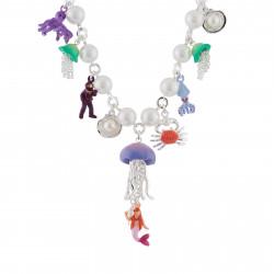 Colliers Collier Transformable Mutli Perles Et Pampilles Du Monde Sous-marin140,00€ AHJS312/1N2 by Les Néréides