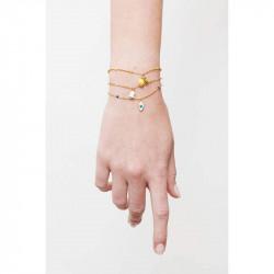 Bracelets Fins Bracelet pendentif clochette de muguet55,00€ AMSO214/1Les Néréides