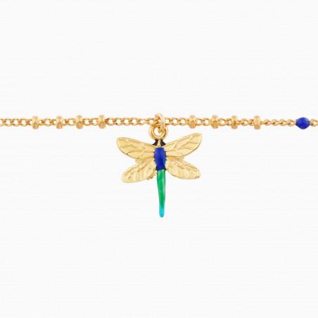 Ear of wheat and poppy bracelet
