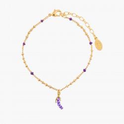 Lavander Charms Bracelet
