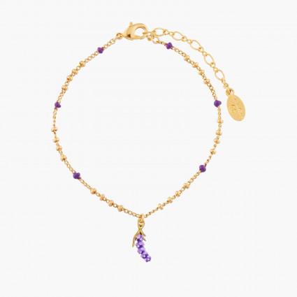 Bracelets Fins Bracelet Pendentif Lavande55,00€ AMSO230/1Les Néréides