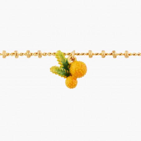 Bracelet luxe un rang beige rosé