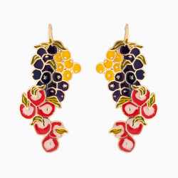 Fruit Bunches Hook Earrings