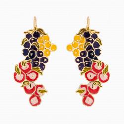 Fruit Bunches Hook Earrings