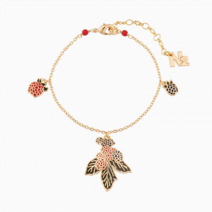 Bracelets Originaux Bracelet Charm's Mûres Et Framboises70,00€ AMBE203/1N2 by Les Néréides
