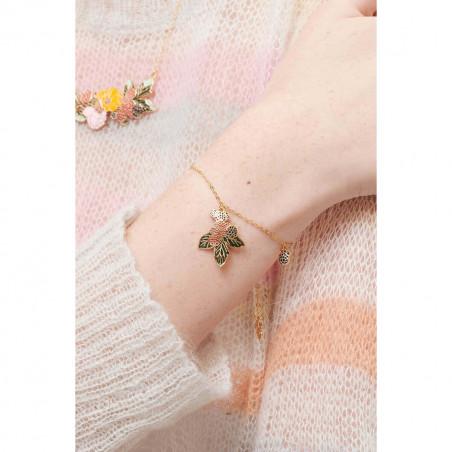 Bracelet 4 pierres et oeil protecteur