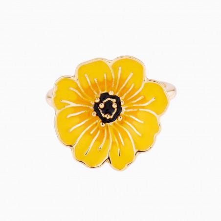 Dormeuses fleur fuchsia
