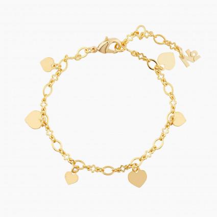 Bracelets Originaux Chaîne De Bracelet Cœur25,00€ AMCH201/1N2 by Les Néréides
